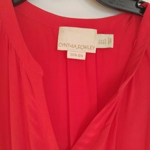 Cynthia Rowley Dresses - Classic red dress